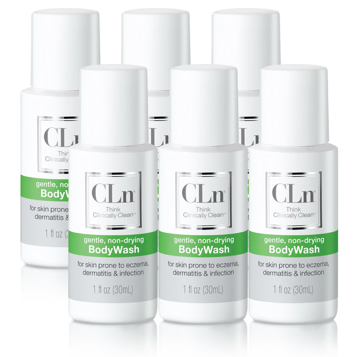 BodyWash Trial Size 6-Pack CLn Skin Care