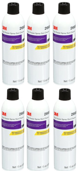 3M 26689 High Power Spray Gun Cleaner Aerosol