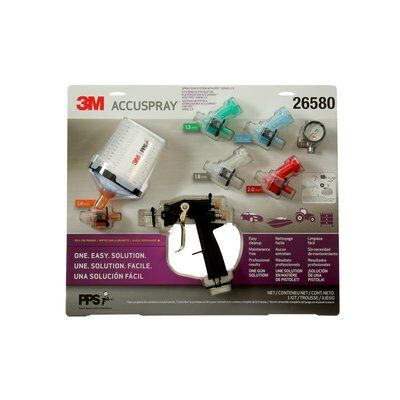 3M Accuspray ONE Spray Gun System with PPS Series 2.0 Spray Cup System, 26580