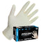 SAS Safety Dyna Grip Powder-Free Exam Grade Latex 7 mil Disposable Gloves Sizes M-XXL