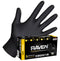 SAS Safety Raven Powder-Free Exam Grade Nitrile - 6 mil Disposable Gloves Sizes M-XXL