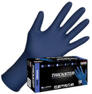 SAS Safety Thickster Powdered Latex 14 mil Disposable Gloves Sizes M - XXL