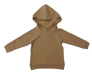 Kid's Hooded Sweatshirt - Fawn (0-6 to 13/14)