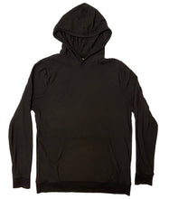 Load image into Gallery viewer, Unisex Hooded Sweatshirt - Black