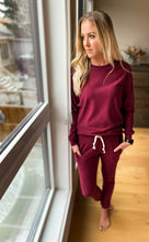 Load image into Gallery viewer, Women's Loungewear Pant - Berry