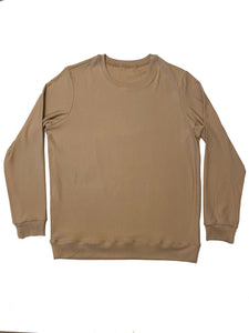 Women's Crewneck Sweater - Fawn