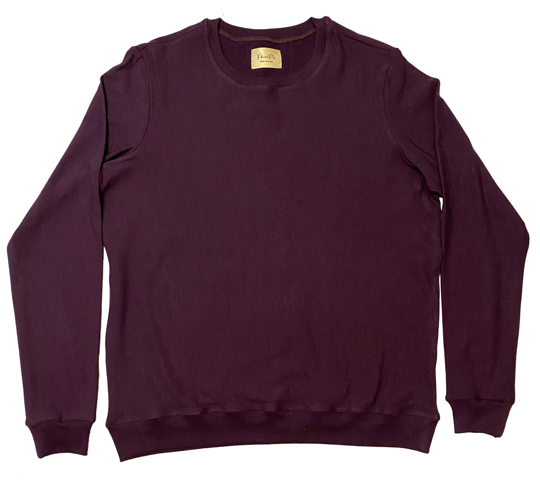 Women's Crewneck Sweater - Plum