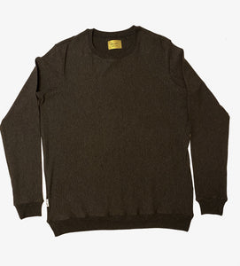 Women's Crewneck Sweater - Charcoal