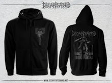 Load image into Gallery viewer, Blood Mantra Universal Rite zip hoodie