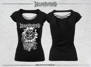 DECAPITATED Ladies Back Cut tee KILL THE CULT