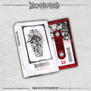 The First Damned  1997/1998 demo release (Red Cassette) - Limit to 130 (PRE-ORDER)