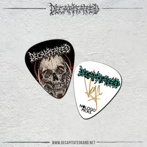 "DECAPITATED ""ETERNITY TOO SHORT"" VOGG'S GUITAR PICK"