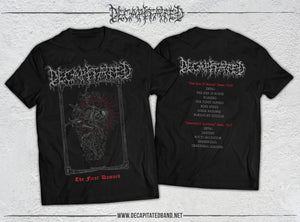 The First Damned black t-shirt (PRE-ORDER)