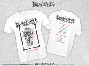The First Damned white t-shirt (PRE-ORDER)