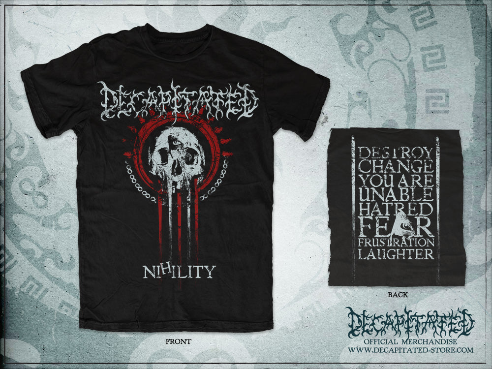 T-shirt NIHILITY (only few sizes left - no reprints)