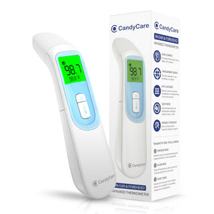 CandyCare Forehead & Ear Non-Contact Thermometer [FDA 510k Cleared]