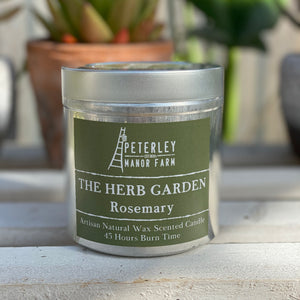 The Herb Garden Natural Wax Candle
