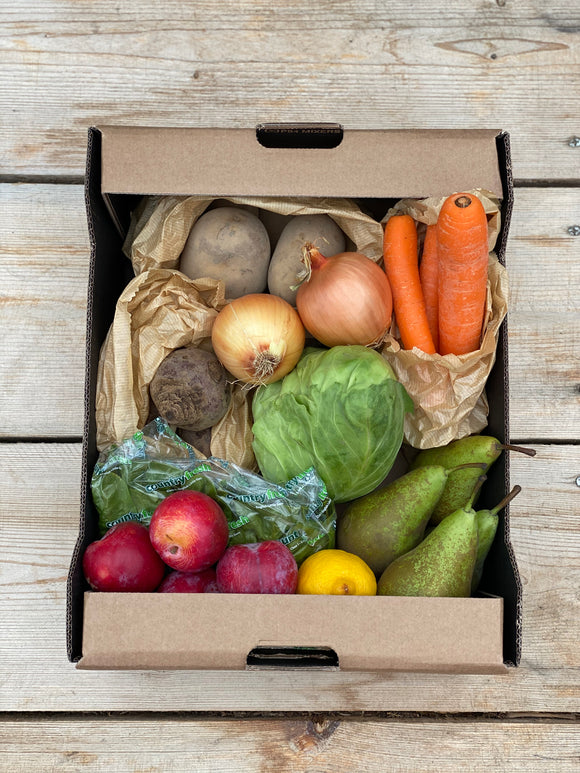 Fresh fruit & vegetable box- small