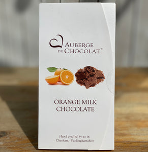 Orange milk chocolate bar- Auberge du Chocolat