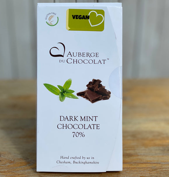Dark mint chocolate bar- Auberge du Chocolat