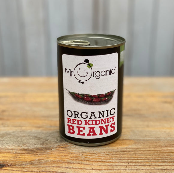 Organic Red Kidney Beans Tin