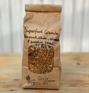 Original Superfood Granola- Chia, Almond and Pumpkin Seed