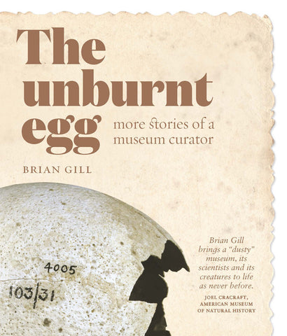 The Unburnt Egg - More stories of a Museum Curator | By Brian Gill