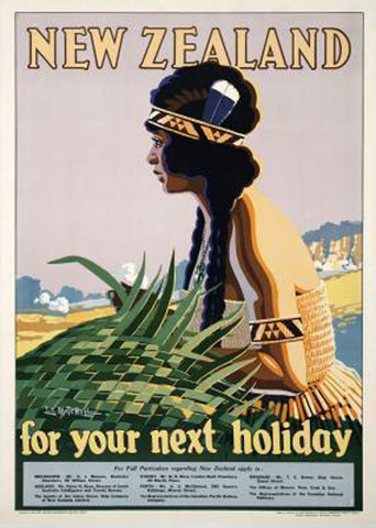A2 Poster - New Zealand Holiday