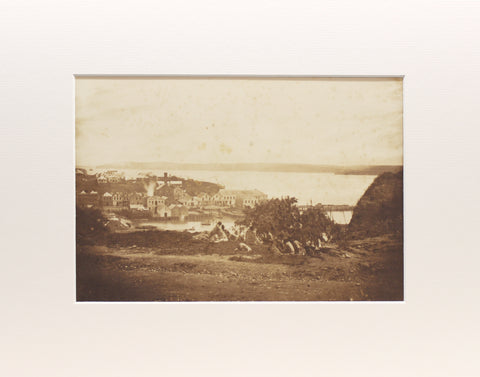 Photographing Early Auckland /Auckland, 1859 B / Matted Print