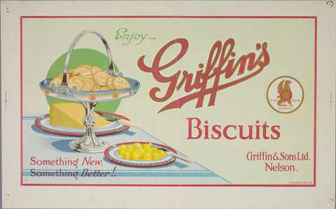 A2 Poster - Enjoy Griffin's Biscuits