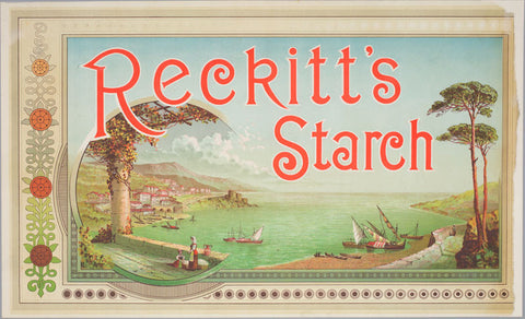 A2 Poster - Reckitt's Starch