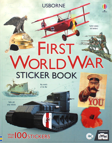 First World War Sticker Book | By Usborne Publication