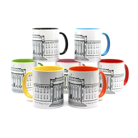 AWMM Merchandise - Museum Illustrated Mugs