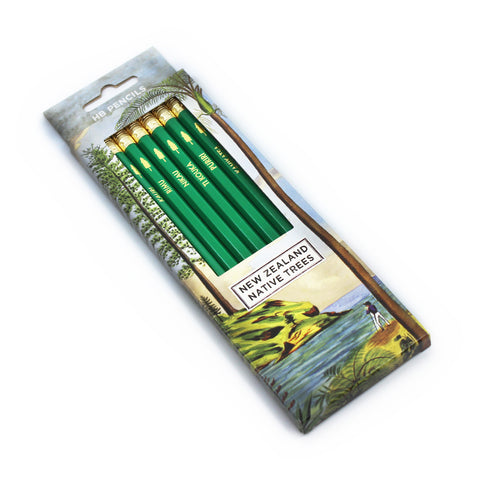 New Zealand Native Trees Pencil Pack