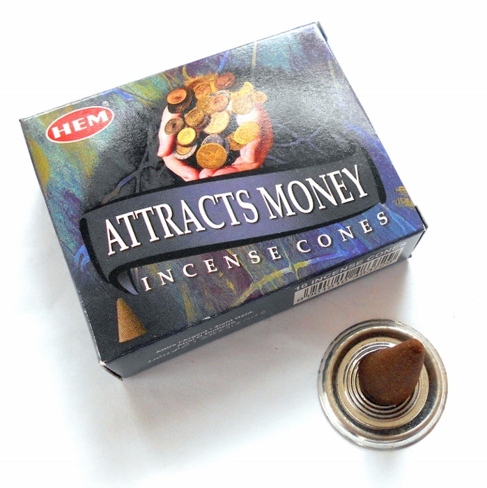 Attract Money Incense Cones