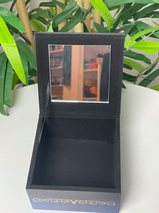 Cat Jewelry Box with Mirror