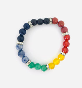Chakra Bracelet with Jewels