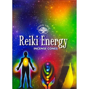 Reiki Energy Incense Cones - Green Tree