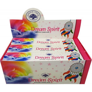 Dream Spirit Masala Incense Sticks - Green Tree