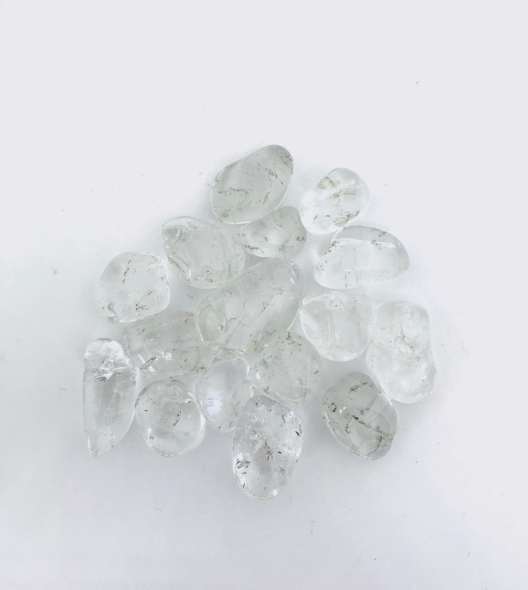 Clear Quartz Tumbled - Grade A