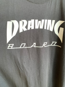 Drawing Board Black T shirt