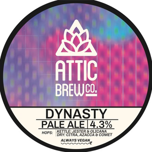 Attic Brew Co. Dynasty Pale Ale Take Out
