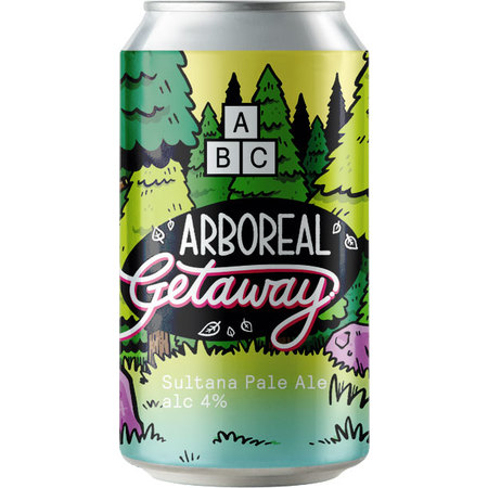 Alphabet Brew Co - Arboreal Getaway Single Hop Pale Ale