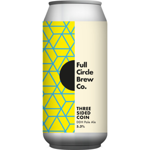 Full Circle Three Sided Coin DDH Pale
