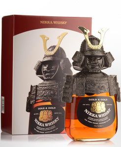 Nikka Gold And Gold Samurai Limited Edition Set