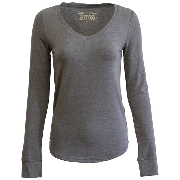 Women's Campus Crew Long Sleeve V-Neck - EXTRA 40% at checkout