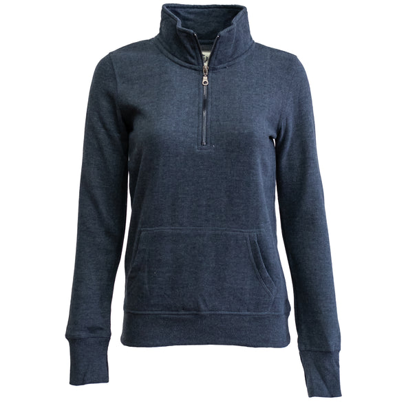 Women's Campus Crew 1/4 Zip Sweatshirt