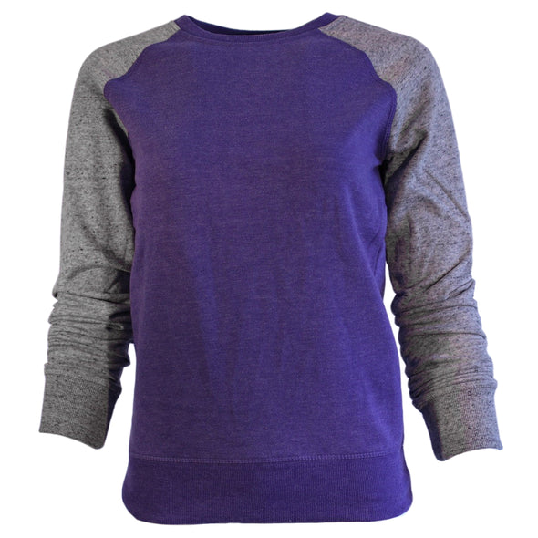 Women's Campus Crew Color Block Crew Neck