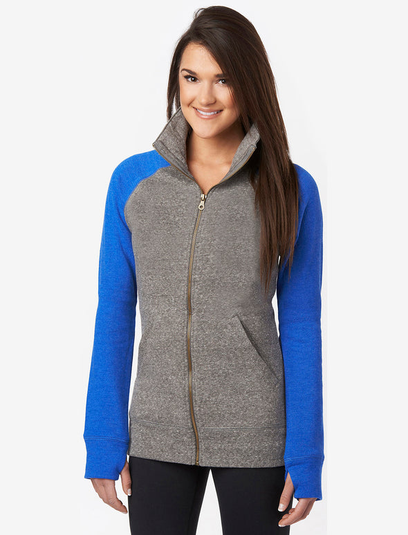 Women's Campus Crew Fleece Track Jacket - EXTRA 40% at checkout