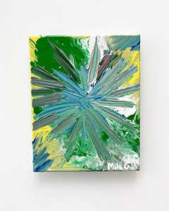 Mini Canvas - Abstract Acrylic